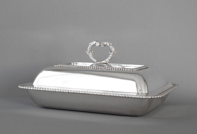 Georgian Silver Entree Dish, London, 1810 by John Foskett & John Stewa For Sale 6