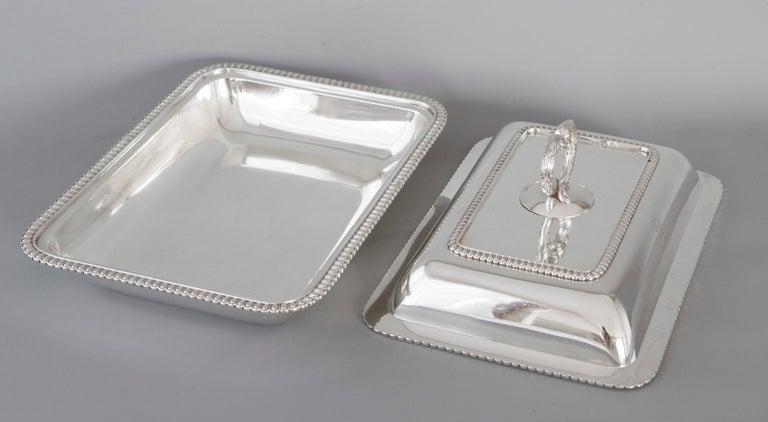 Georgian Silver Entree Dish, London, 1810 by John Foskett & John Stewa For Sale 7