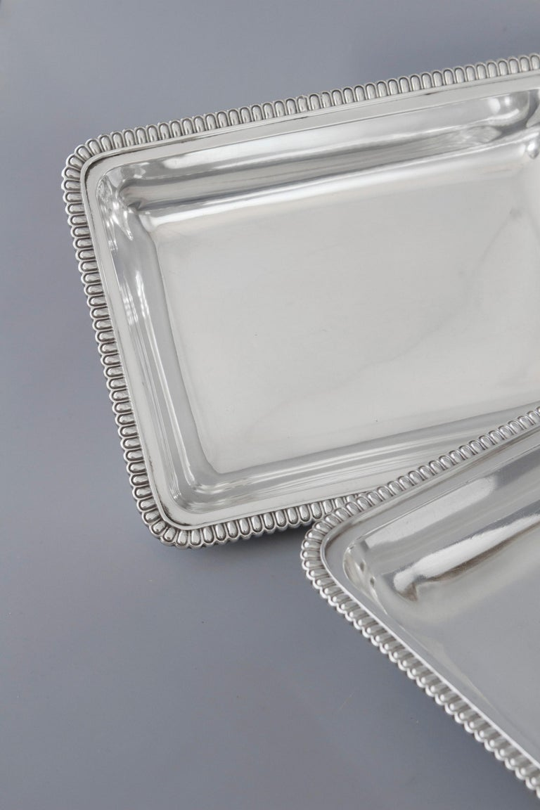 Georgian Silver Entree Dish, London, 1810 by John Foskett & John Stewa For Sale 9