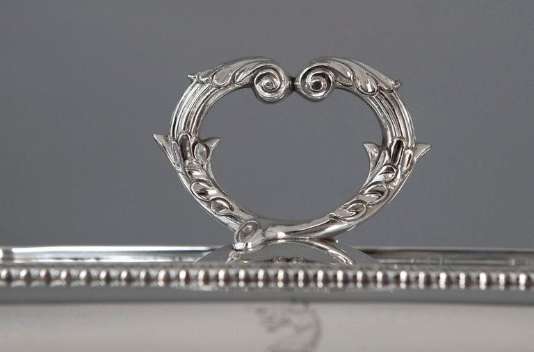 Georgian Silver Entree Dish, London, 1810 by John Foskett & John Stewa For Sale 12