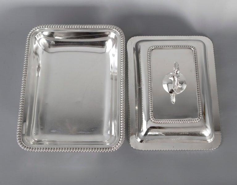 Georgian Silver Entree Dish, London, 1810 by John Foskett & John Stewa For Sale 2