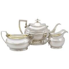 Georgian Sterling Silver Three Piece Tea Service