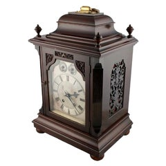 Georgian Style Bracket Clock, 19th Century