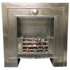 Georgian Style Cast Iron Hob Grate Fireplace Insert