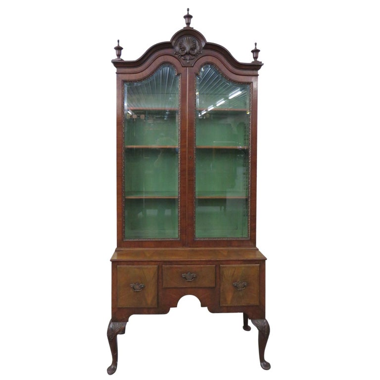 Georgian Style China Cabinet For Sale At 1stdibs