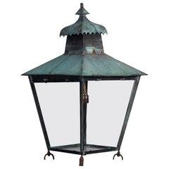 Georgian Style Copper Lantern