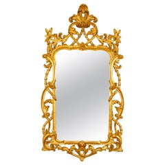Georgian Style Giltwood Carved Mirror