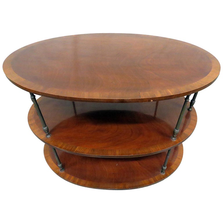 English Regency Style Satinwood and Mahogany Brass Inlaid Dessert Side Table For Sale