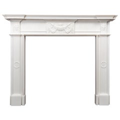 Georgian Style Marble Fireplace by Ryan & Smith