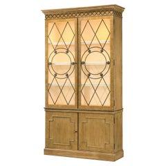 Georgian Style Oak Bookcase