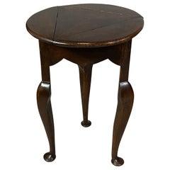 Georgian Style Oak Side Table
