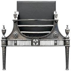 Georgian Style Polished Firegrate