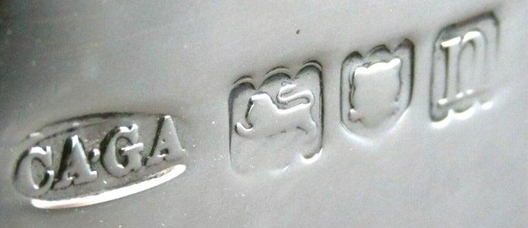 A Very Fine Sterling Silver Tea Caddy by Asprey, Hallmarked London 1908 For Sale 1