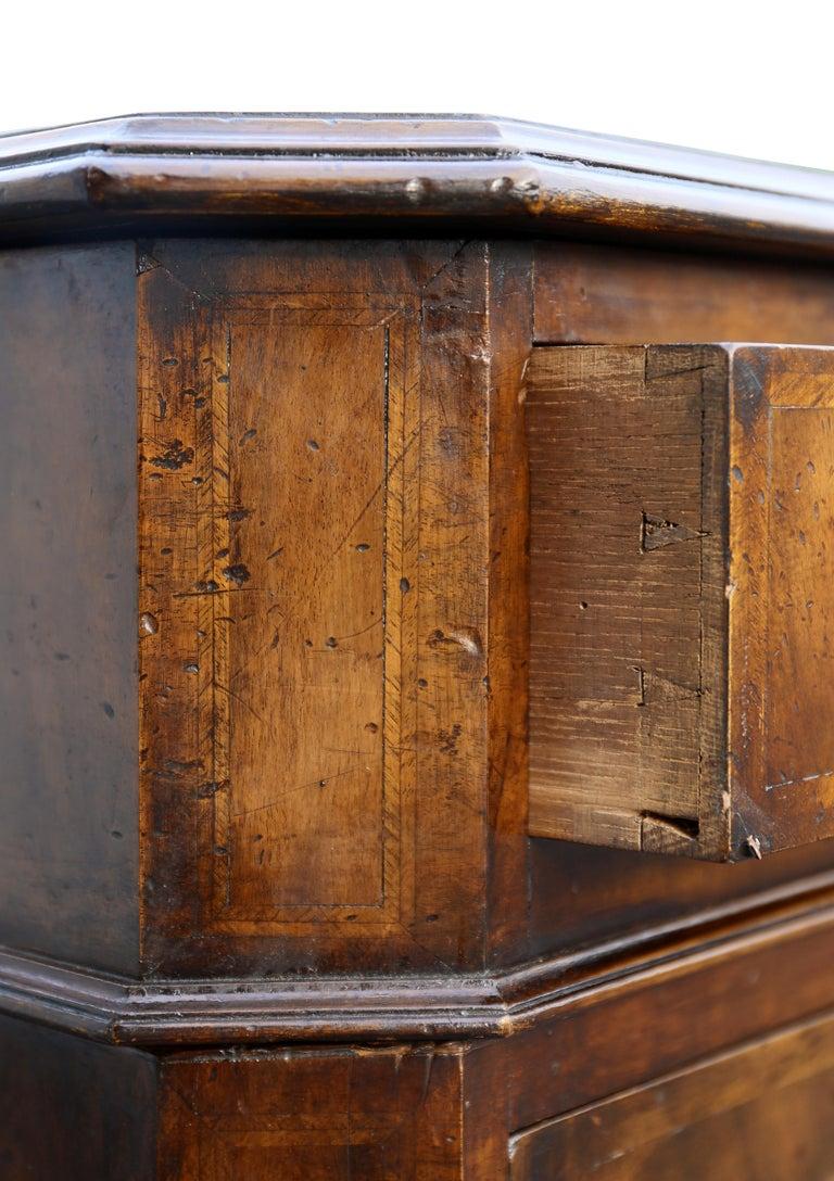 Mid-18th Century Georgian Style Walnut Partners Desk For Sale