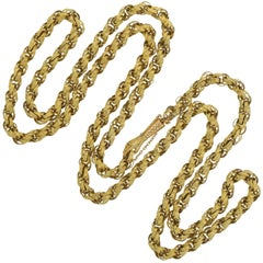 18th Century and Earlier Chain Necklaces