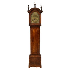 Georgian Walnut Tall Case Clock by Thomas Smith of Norwich