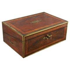 Georgian Writing Box by Hicks of London, 19th Century