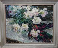 """""""Peonies""""  Oil  cm. 71 x 89"""