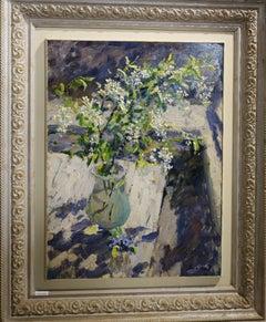 """""""Wild cherry""""   Oil  cm. 51 x 59 1996"""