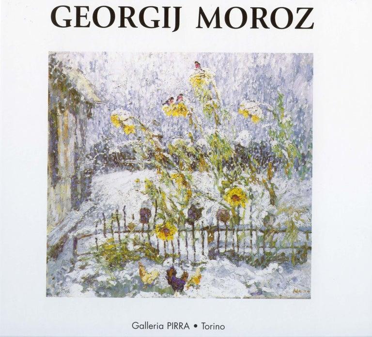 Winter ,First sun ,Snow - oil  cm. 44 x 44 2000 For Sale 4