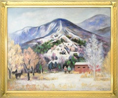 Sangre de Cristo Scene (Southern Colorado Mountain Landscape with Snow)