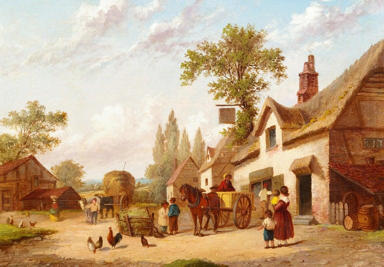 Country Life - Painting by Georgina Lara