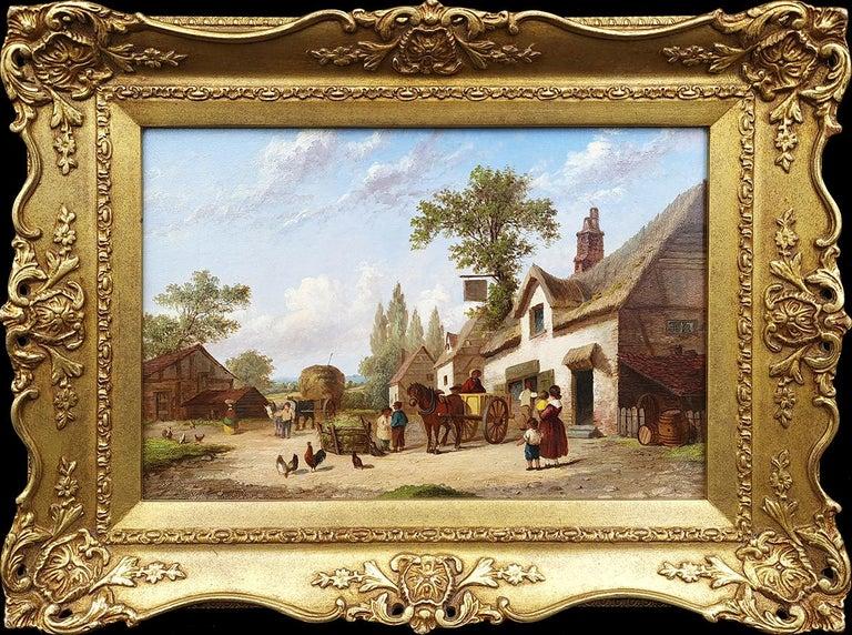Georgina Lara Landscape Painting - Country Life