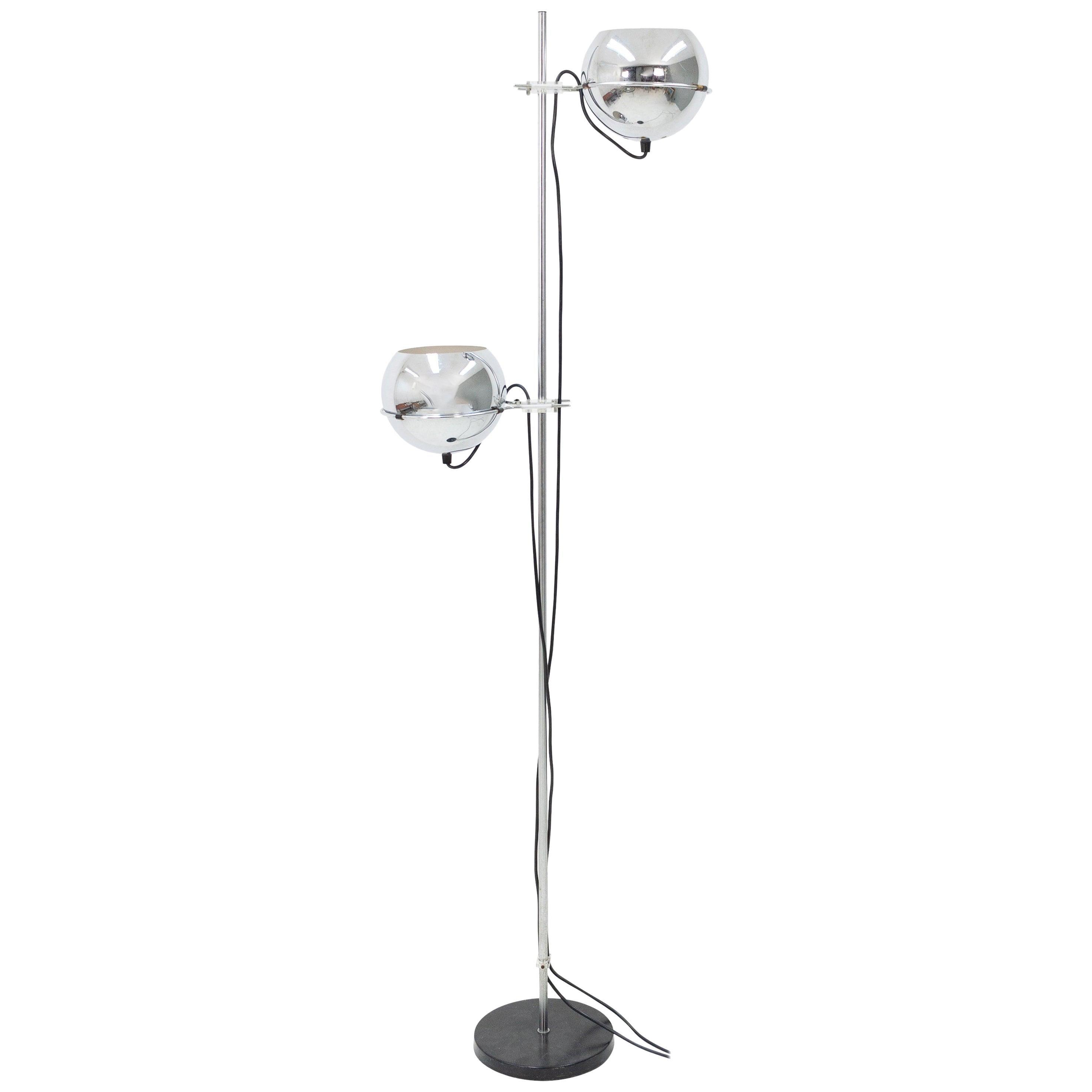Gepo Chrome Floor Lamp