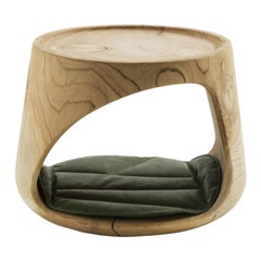 Geppo Pet Stool by Marco Baxadonne, Riva 1920, Handmade in Italy