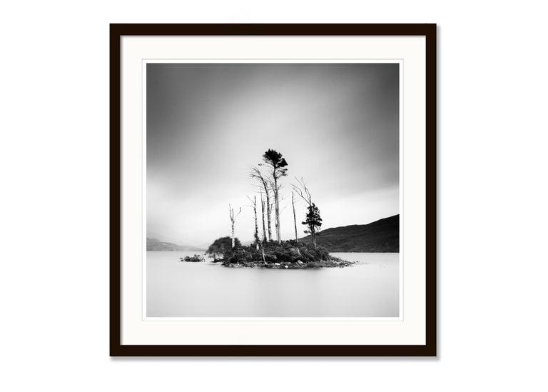 Drowned Island Study 2, Scotland - B&W long exposure fine art landscapes photo For Sale 2