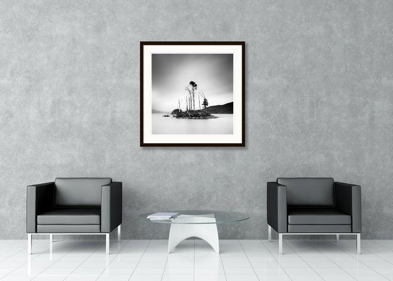 Drowned Island Study 2, Scotland - B&W long exposure fine art landscapes photo For Sale 3