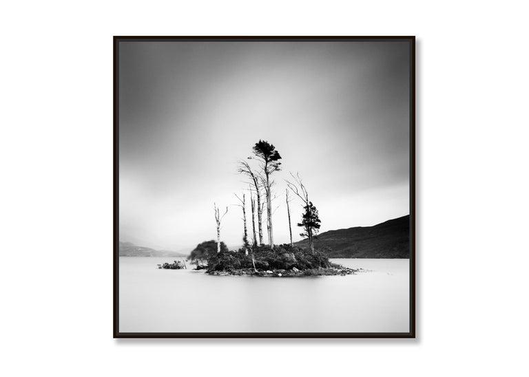 Drowned Island Study 2, Scotland - B&W long exposure fine art landscapes photo For Sale 4