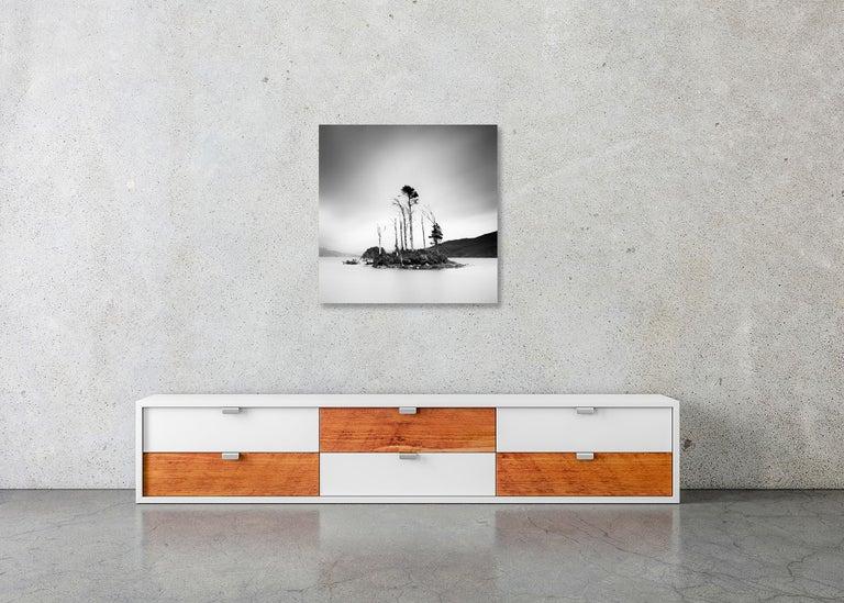 Drowned Island Study 2, Scotland - B&W long exposure fine art landscapes photo For Sale 6