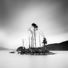 Drowned Island Study 2, Scotland - B&W long exposure fine art landscapes photo