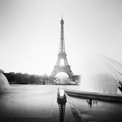 Eiffel Tower Study 1, Paris, France - Black and White fine art city photography