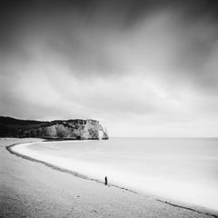 Fishermans Dream, coast, France, fine art black and white photography landscapes