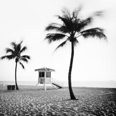 Fort Lauderdale Beach, Florida - Black and White Fine Art Landscape Photography