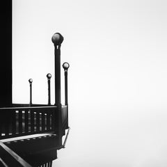 Golden Gate Bridge, architecture detail, minimalist black and white cityscapes