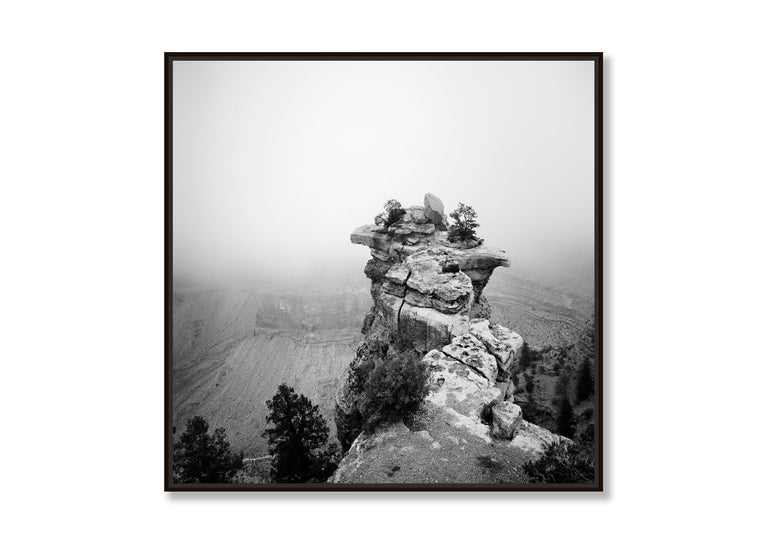 Grand Canyon Study 1, Arizona, USA - Black and White fine art film photography - Contemporary Photograph by Gerald Berghammer, Ina Forstinger