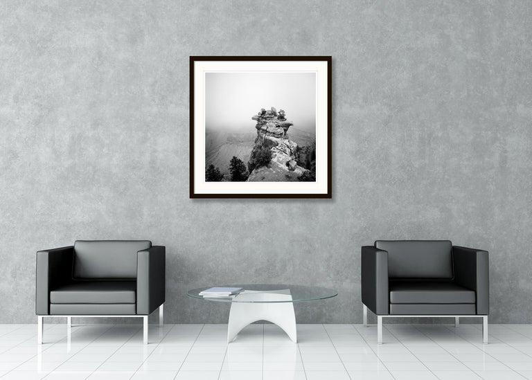 Grand Canyon Study 1, Arizona, USA - Black and White fine art film photography For Sale 1