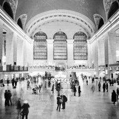 Grand Central Station, New York City, contemporary black and white photography