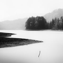 Minutes of Silence , Austria - Black and White Fine Art Landscape Photography