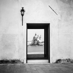 Reflection, Venice, Italy, black and white fine art photography, landscapes
