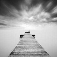 Self Portrait, Austria, black and white photography, long exposure waterscapes