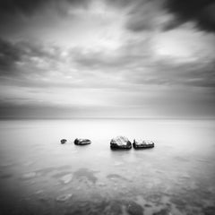 Three and a half Stone, Spain, black and white print, long exposure landscapes