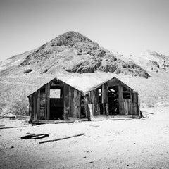 Abandoned Study #1, desert, Arizona, USA, black and white photography, landscape