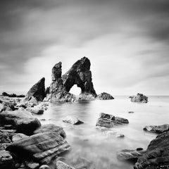 Crohy Sea Arch, Ireland, b&w fine art photography, landscape, waterscape