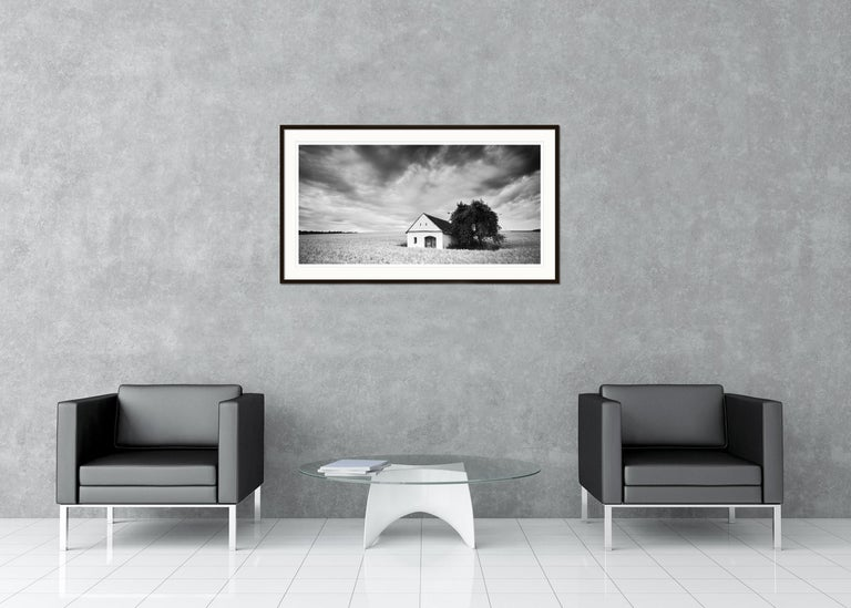 SILVERFINEART - Black and white landscape photography. Limited edition of 5. Archival pigment ink print on fine art paper. Hand signed, titled, negative date, print date and numbered on print and artist label by Gerald Berghammer. Selenium toned