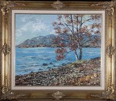 Gerald Hodgson - 1992 Oil, Derwentwater, Lake District