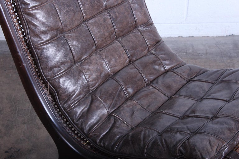 Gerald Jerome Lounge Chair, 1968 For Sale 3